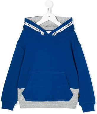 Little Marc Jacobs colour blocked hoodie