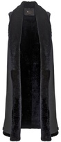 Loro Piana Kenny Shearling And Suede Vest
