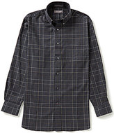 Daniel Cremieux Signature Long-Sleeve Heather Plaid Woven Shirt