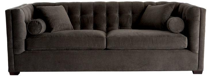 "Horchow ""Dusk"" Tufted Sofa"
