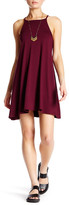 Angie High Neck Knit Swing Dress