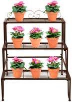 Sorbus 3 Step Flower Stand - Bronze