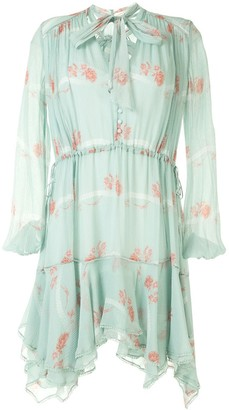 Jonathan Simkhai Floral Embroidered Shift Dress