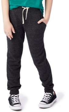 Alternative Apparel Big Boys and Girls Dodgeball Eco-Fleece Pants