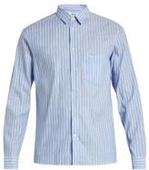Acne Studios York linen-blend chambray shirt
