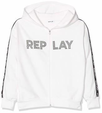 Replay Girl's Sg2413.050.20225 Sweat Jacket
