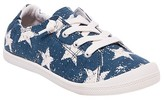 Mad Love Women's Lennie Star Print Sneakers - Navy