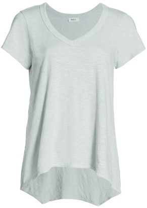 Wilt Sexy Deep-V Boyfriend Cotton Tee