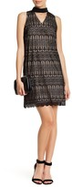 London Times T2891MSG Lace Keyhole Sheath Dress