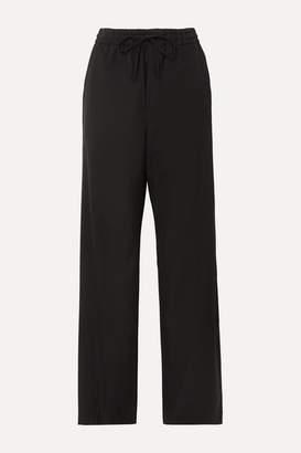Maison Margiela Wool-blend Pants - Black