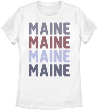Fifth Sun Juniors' Maine Colorful Stack Tee