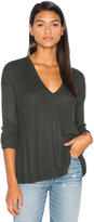 Line Heather V Neck Sweater