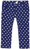 Jo-Jo JoJo Maman Bebe Stretch Skinny Jeans (Toddler/Kid) - Navy/Cream-2-3 Years