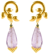 Vessel Entwined Amethyst Earrings