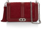 Rebecca Minkoff Chevron Quilted Love Crossbody Bag With Tassel