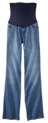 Liz Lange for Target® Maternity Blue-Band Bootcut Denim Jeans - Kalena Blue