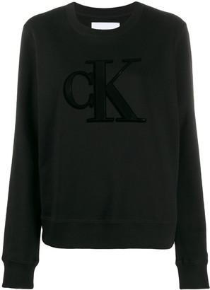 Calvin Klein Jeans Bae logo sweatshirt