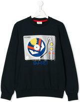 Fendi printed sweatshirt