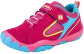 PPXID Boy's Girl's Mesh and Leather Trainers Running Sneakers Casual Sport Shoes- 29 CN