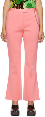Givenchy Pink Chain Flared Trousers
