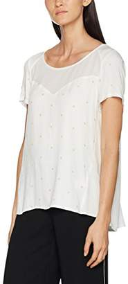 2two Women's Padang Short Sleeve T - Shirt - Off-White - (S)