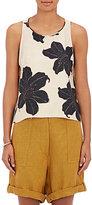 Giada Forte Women's Floral Silk Trapeze Top