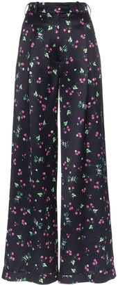 Racil Mama high waist floral print trousers