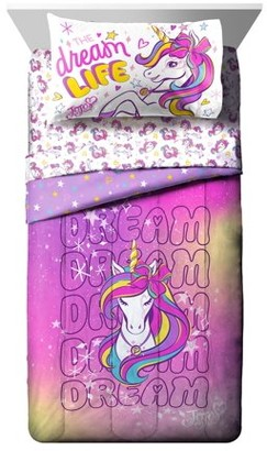Jojo Siwa Dream Unicorn Kids Bed in a Bag Bedding Set