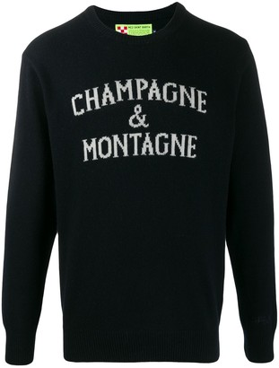 MC2 Saint Barth champagne jumper