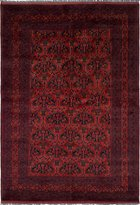 """Ecarpetgallery Hand-knotted Finest Khal Mohammadi 6'6"""" x 9'6"""" 100% Wool Traditional area rug"""