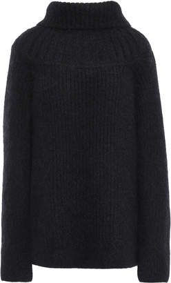 3.1 Phillip Lim Oversized Ribbed Wool-blend Turtleneck Sweater