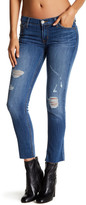Hudson Muse Raw Hem Cropped Skinny Jean