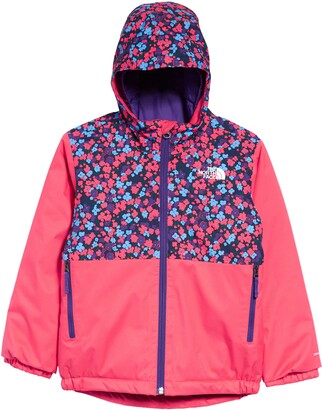 The North Face Kids' Paradise Pink Water Repellent Jacket