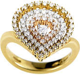 Damiani 18K Tri-Color 0.85 Ct. Tw. Diamond Ring