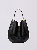 Diane von Furstenberg Large Calf Hair and Leather Hobo