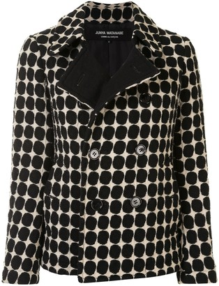 Junya Watanabe Comme Des Garçons Pre Owned Polka Dot Double-Breasted Jacket