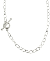 Cathy Waterman 16-in. Lacy Chain Necklace - Platinum