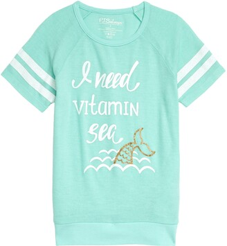 PJ Salvage Vitamin Sea Graphic Tee