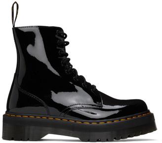 Dr. Martens Black Patent Jadon Platform Boots