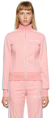 Palm Angels Pink Fitted Track Jacket