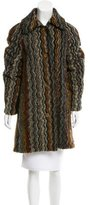 Missoni Textured Knee-Length Coat