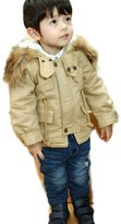 C'est Moi Boys Jacket Fashion Coats With Cotton Hoodie