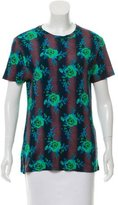 Christopher Kane Floral Gradient T-Shirt