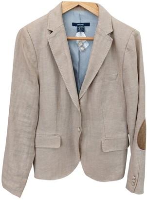 Gant Beige Linen Jackets