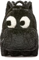 Anya Hindmarch Mini Ghost Shearling Backpack