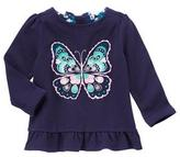 Gymboree Butterfly Peplum Top