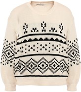 Joie Talena Fair Isle Cotton Sweater