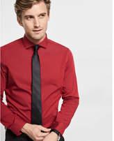 Express modern fit diamond textured dress shirt