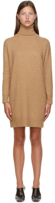 Max Mara Beige Wool Greenh Turtleneck