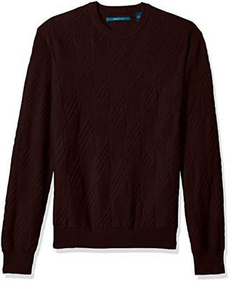 Perry Ellis Men's Textured Pattern Sweater